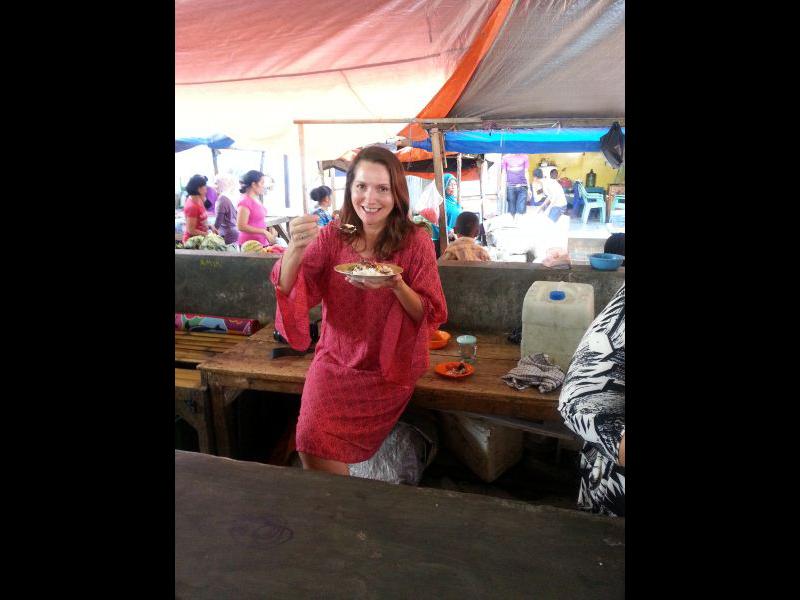 Breakfast at Labuan Bajo market